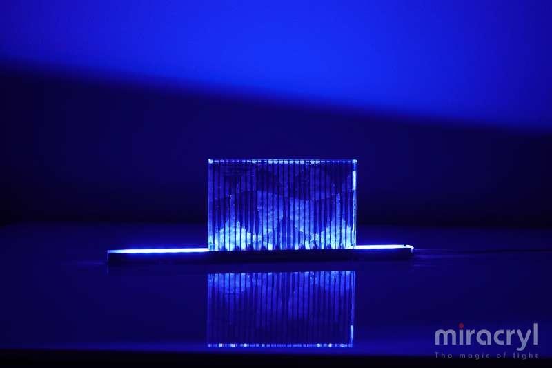 miracryl® acrylic couture opera steel blue