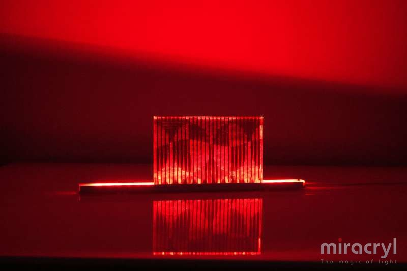 miracryl® acrylic couture opera steel red