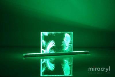 acrylic couture vento green